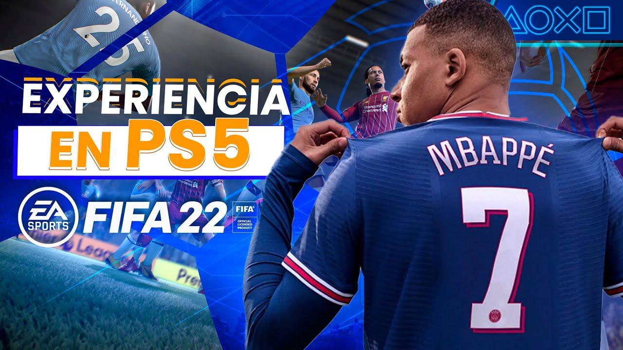 ¿La REVOLUCIÓN del fútbol? - FIFA 22 en PS5 es algo NUNCA ANTES VISTO   PlayStation España