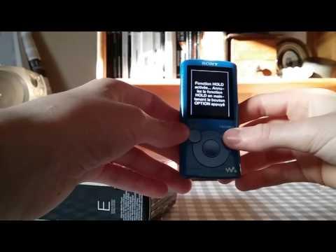 Déballage Du Mp4 (Sony Walkman) Bleu
