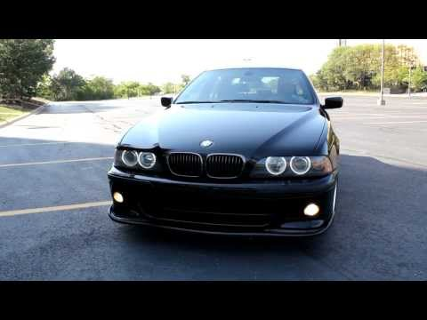 BMW 540i with 14816 Magnaflow – Y Resonator Delete