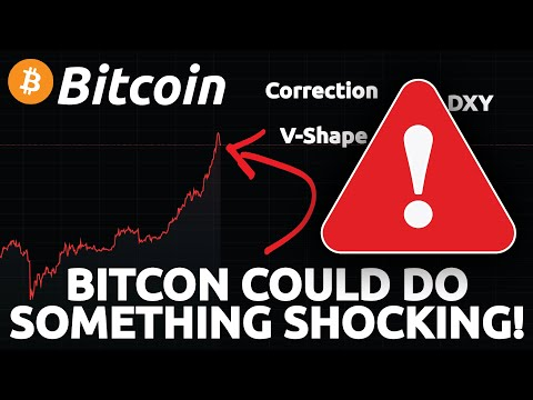 THE NEXT MOVE OF BITCOIN CAN BE SHOCKING!!!!! (Bitcoin correction coming ?)