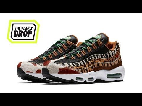 667f6b078c atmos x Nike Air Max Beast Pack Sneaker Release Info: The Weekly Drop -  YouTube