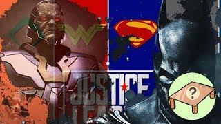 JUEGOS DE MESA 2019 JUSTICE LEAGUE ( SUPERMAN CONTRA DARKSEID )