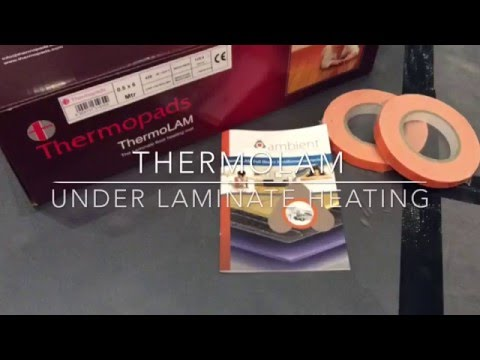 Thermolam Underfoor Eletric Heating Mats for wood/laminate floors