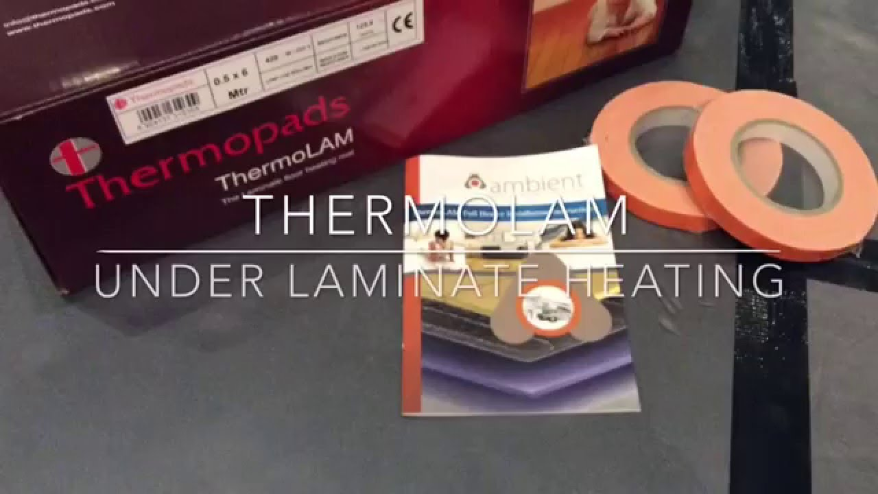 Thermolam Underfoor Eletric Heating Mats For Wood Laminate Floors