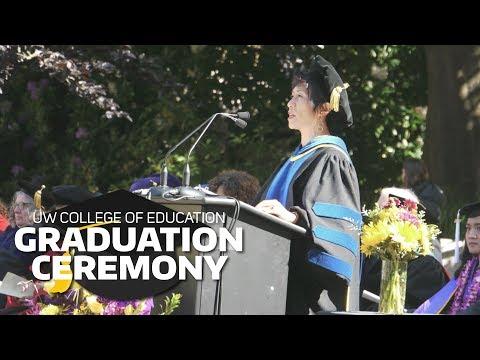 2017 UW College Of Education Graduation Ceremony: Full Program
