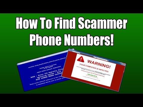How To Find Scammer Phone Numbers