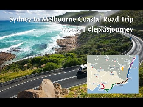 World Tour Week 4 Coastal Drive Sydney to Melbourne