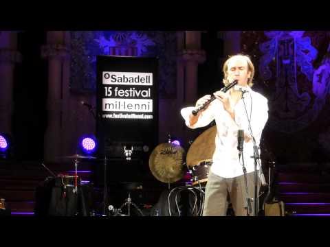 Carlos Nuñez - El cant dels ocells - Palau de la Música Catalana 30/12/2013