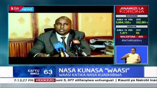 NASA kunasa 'waasi': NASA kutekeleza mabadiliko Bungeni, baadhi kuondolewa kwenye kamati kuu