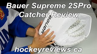 Bauer Supreme 2S Pro Od1n Catching Glove (Catcher) Review