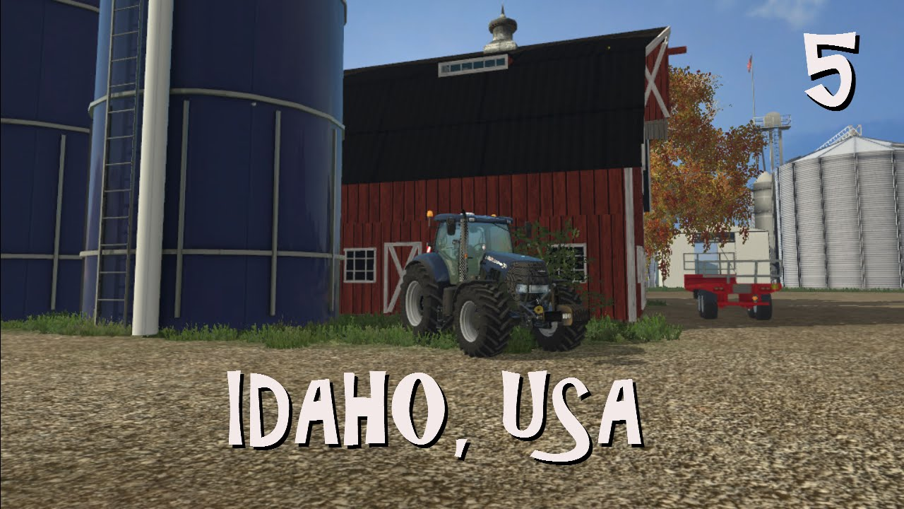 FS Idaho USA Ep We Set Up Our GEA Mix Feeder At The - Farming simulator 2015 us map feed cows
