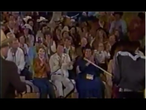Merle Haggard & Mark O'Connor at the White House, President Reagan (1982)