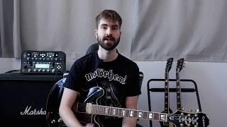#6 Bendings II. Técnica Guitarra JOINT SHIFTING Cómo se hace y TUTORIAL