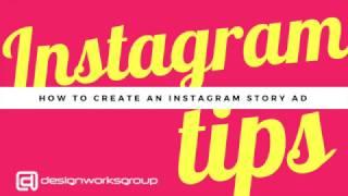 Instagram نصائح: كيفية إنشاء Instagram قصص الإعلان