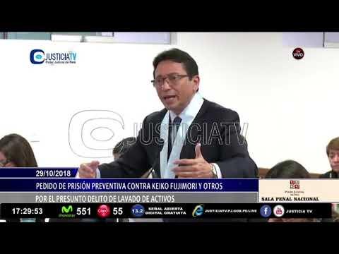 Pedido prisión preventiva contra Keiko Fujimori y otros XXIII