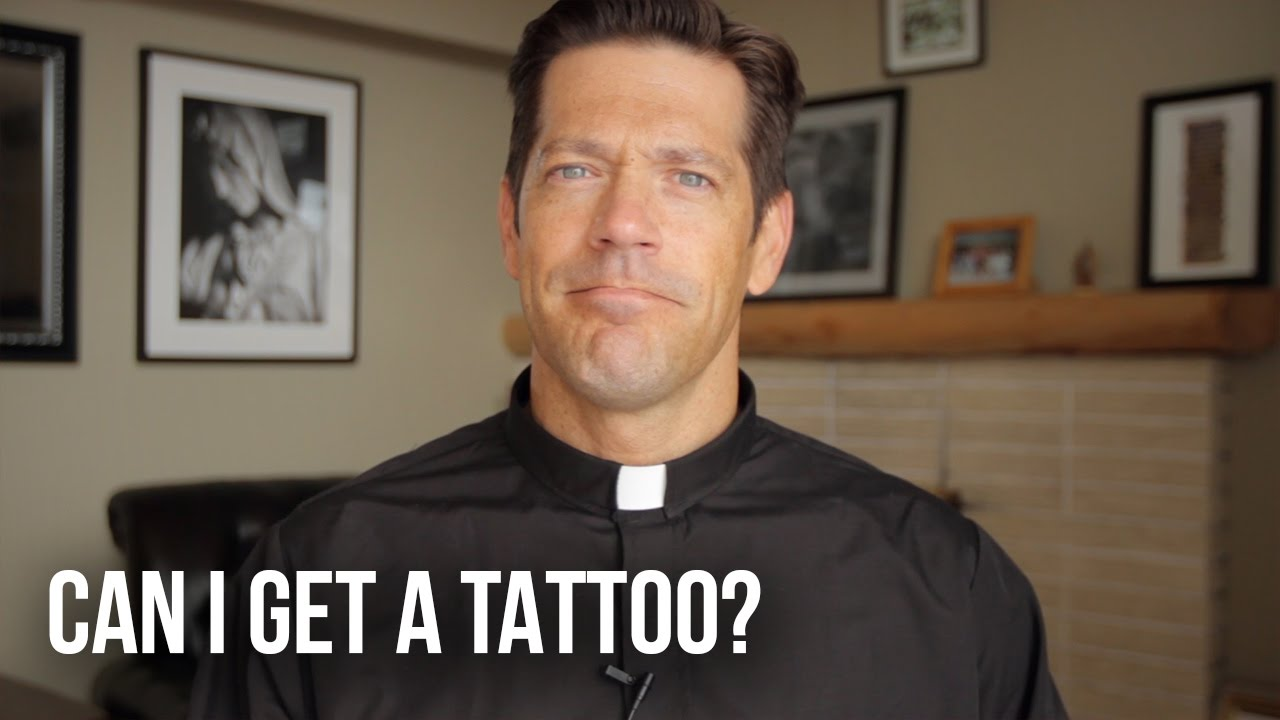 Can i get a tattoo youtube for Can catholics get tattoos