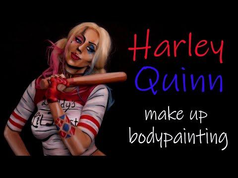 HARELY QUINN (Margot Robbie – Birds of Pray) makeup transformation   Kika Studio