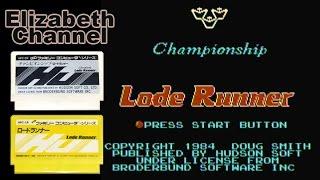 【チャンピオンシップロードランナー】実況プレイ-比べてみました編-【ファミコン/FC/1983/レトロゲーム】
