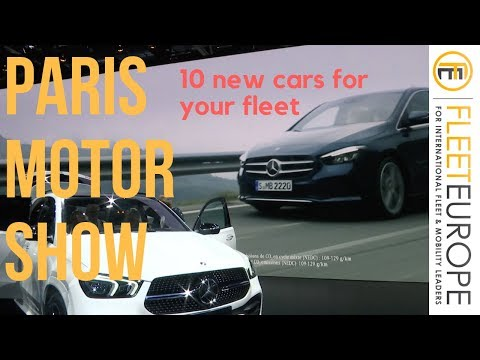 10 additions to your fleet at the Paris Motor Show