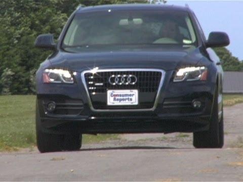 Audi Q5 Road Test   Consumer Reports