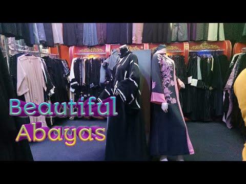 Beautiful Abaya Designs | Best and Cheap Abaya / Burqa Market | Saudi Arabia | Jeddah