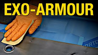 How to Create A Brushed Metal Look & Apply Exo-Armour on a Floor Pan - Eastwood