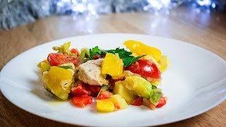 Овощное рагу с курицей | Vegetable stew with chicken