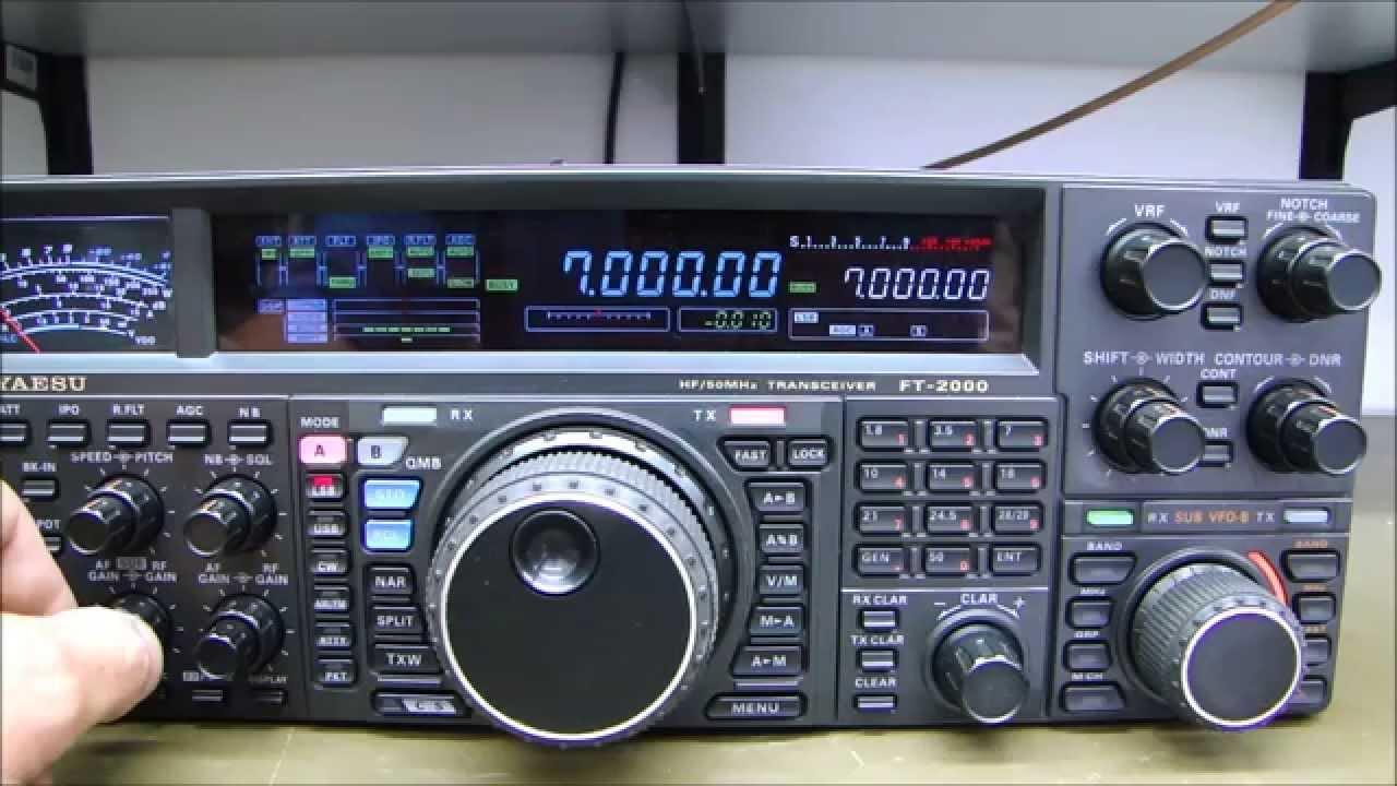 ALPHA TELECOM: YAESU FT-2000D SEM RECEPÇÃO NAS DUAS BANDAS