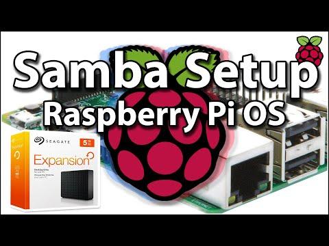 Raspberry Pi Network Storage Samba Setup With Multiple NTFS Drives