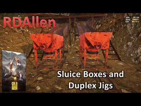 Gold Rush The Game E19 - Sluice Boxs and Duplex Jigs