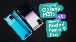 Samsung M31s vs Xiaomi Redmi Note 9 Pro - Обзор и сравнение Samsung vs Xiaomi
