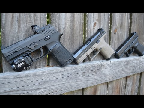 Glock 19 vs Sig P320 vs Cz P10c On The Range Showdown