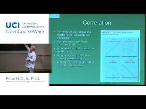 Psychology 9C/Psychology & Behavior 11C. Lec 8: Measuring Individual Differences