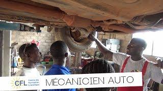 Formation mecanicien auto CFL Benin