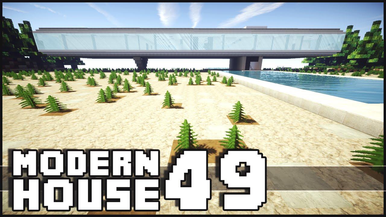 Minecraft Amazing Modern House 49 Villa Kogelhof YouTube