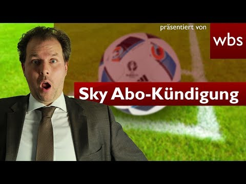 Sky's sick response to subscription cancellation | Lawyer Christian Solmecke