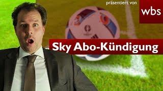 """""""Wir haben Sie im Sack!"""" – Skys krasse Antwort auf Abo-Kündigung   Rechtsanwalt Christian Solmecke"""