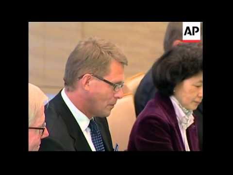 Finnish PM continues visit, meets Japanese PM Fukuda