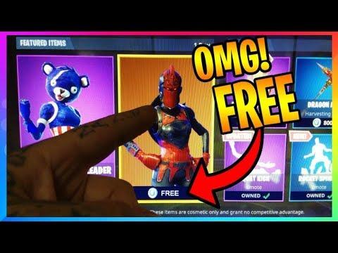*NEW* Fortnite: HOW TO GET RED KNIGHT **FREE** IT'S BACK! (Fortnite Battle Royale Leaks) Free VBucks