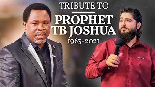 Tribute To Prophet TB Joshua (1963-2021)   by Man Of God Harry