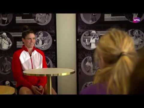 Jennifer Brady meets Future Stars | 2020 Brisbane