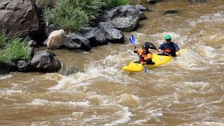 NM Governor Susana Martinez Rides the Rapids of the Rio Grande