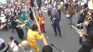 ひたち国際大道芸 「キャラバン」パレード