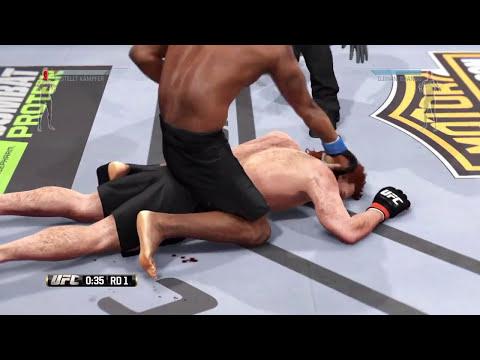 UFC ONLINE DJIHAN DJANGO Best of knockouts