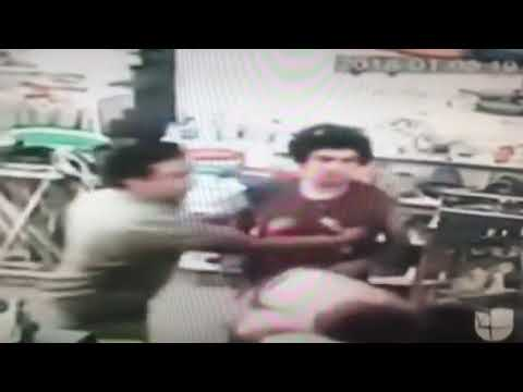 Man punches baby then man
