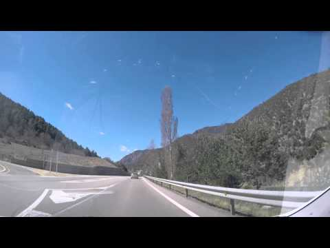 The Drive From Barcelona to Andorra - Timelapse