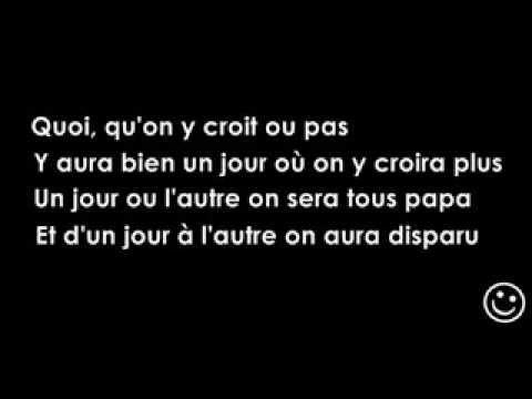 Stromae papaoutai lyrics video