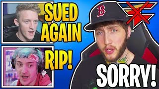 Streamers React To FaZe Clan SUED AGAIN For STEALING Millions! (RIP)