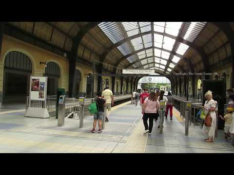 Piraeus Metro Station for ferry port in Athens Greece 1