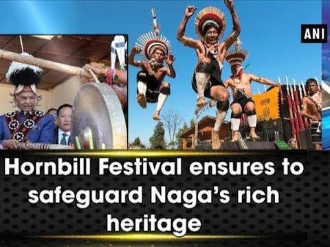Hornbill Festival ensures to safeguard Naga's rich heritage - Nagaland News